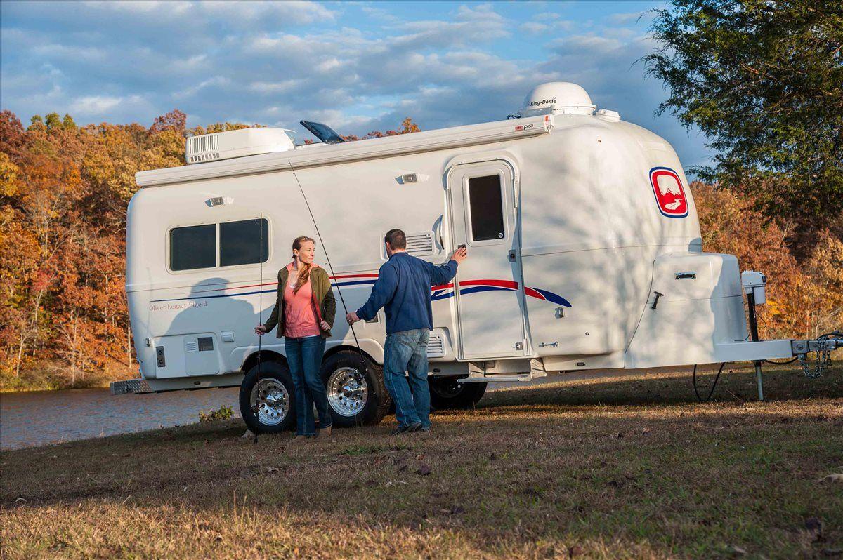 oliver travel trailers legacy elite 2 fishing