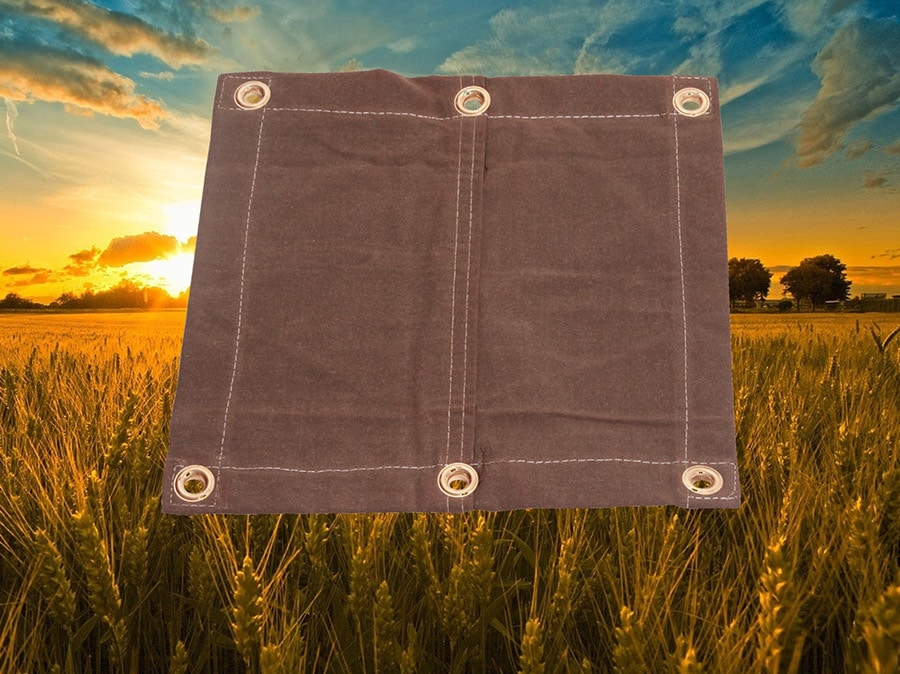 noble brown farm tarp