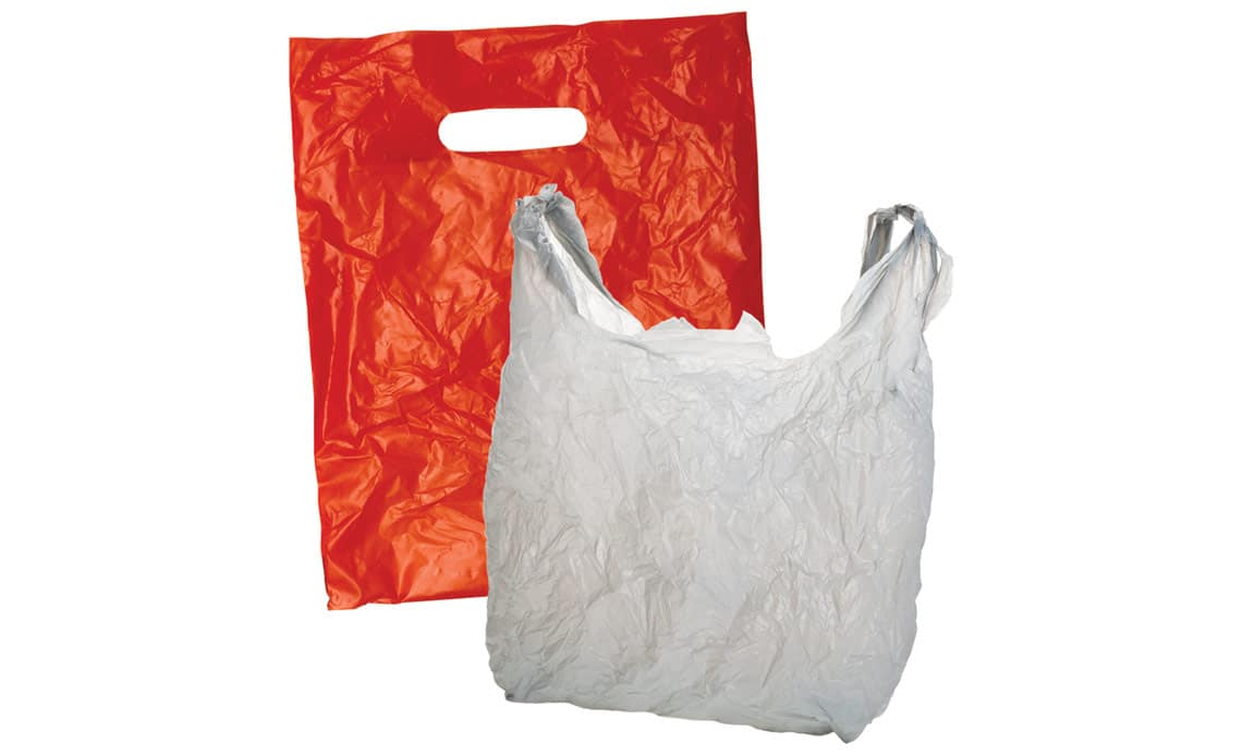 plastic bags for waste when camping