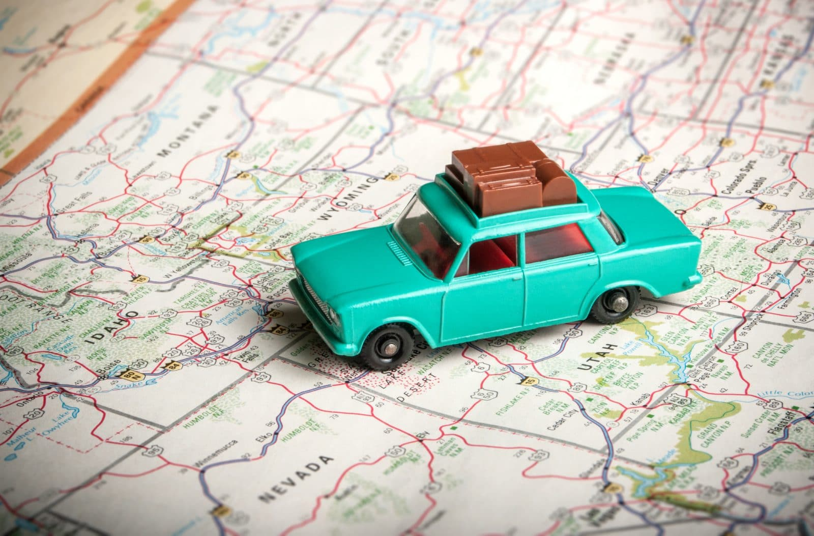 travel trailers road trip ideas using a map