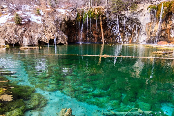 Hanging Lake near Glenwood Springs Colorado