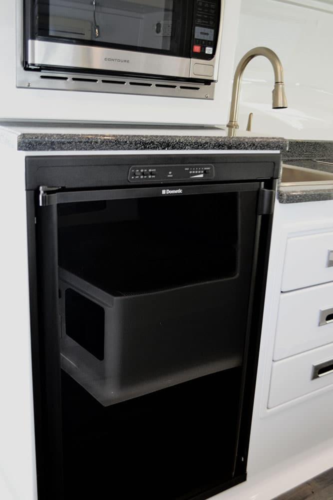 oliver travel trailers standard options 3 way refrigerator
