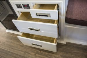 oliver travel trailers legacy elite 1 kitchen galley drawers