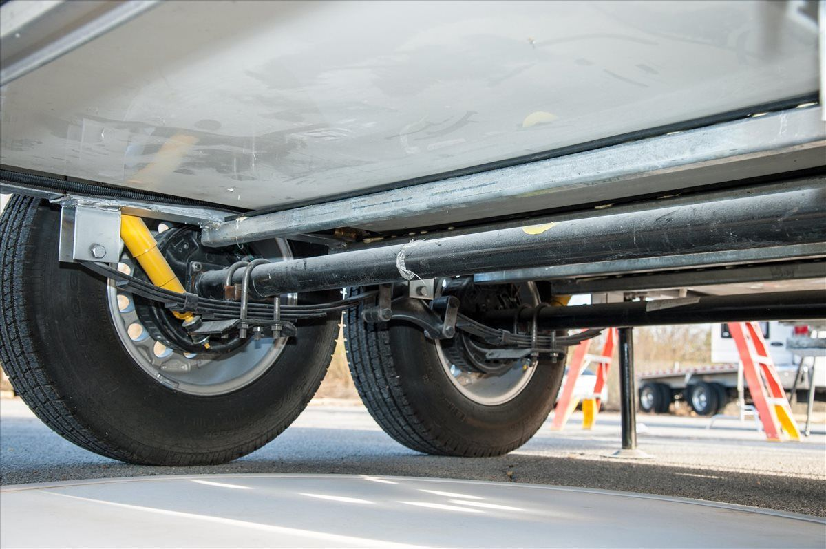 oliver travel trailers standard features dual dexter leaf spring axles