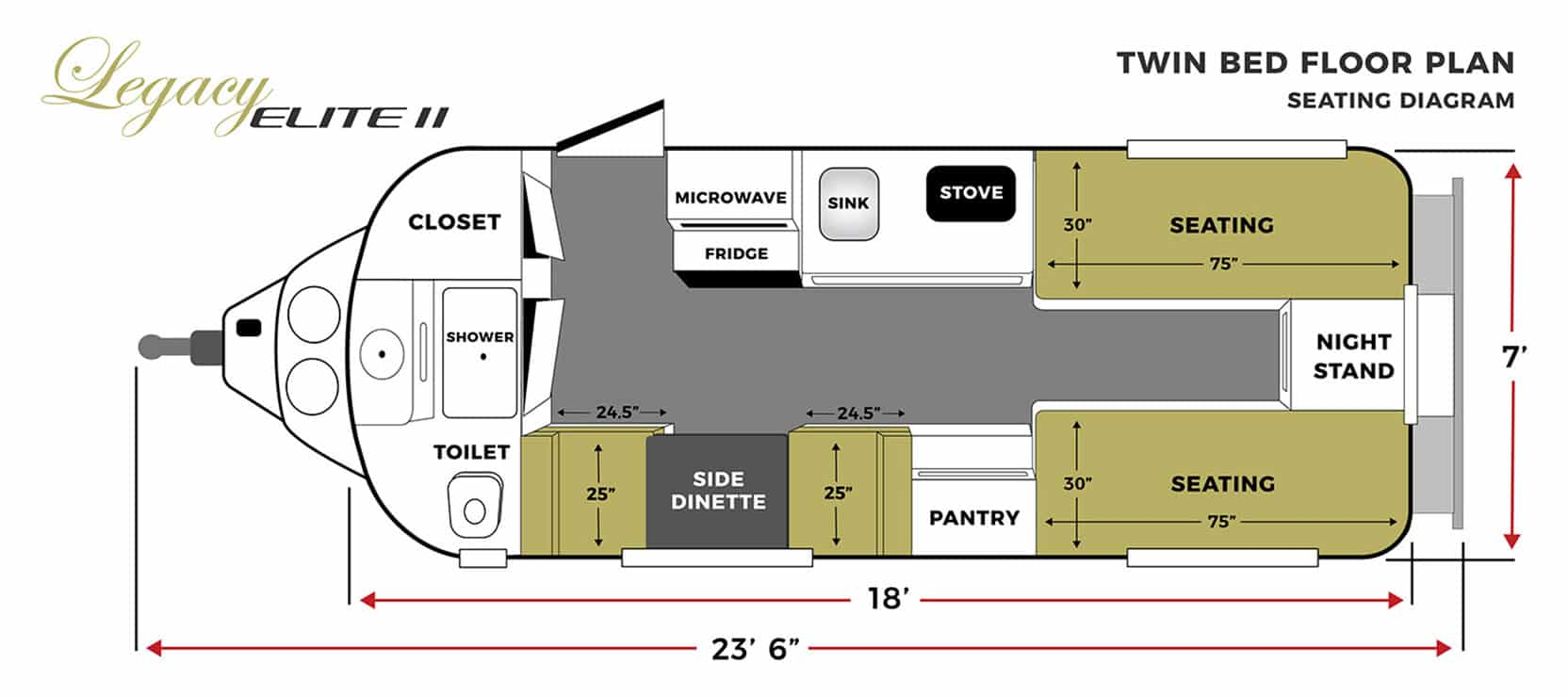oliver travel trailers legacy elite 2 twin bed seating floor plan horizontal