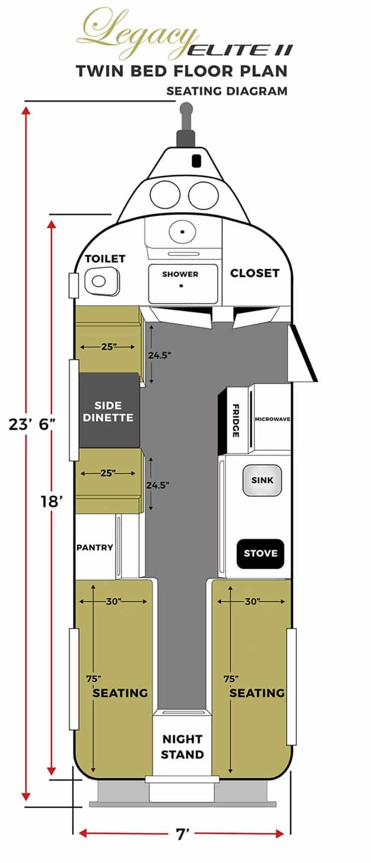 oliver travel trailers legacy elite 2 twin bed seating floor plan vertical