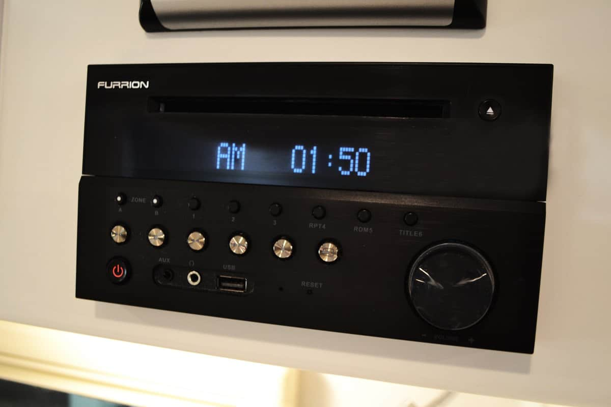 oliver travel trailers standard features furrion stereo head unit