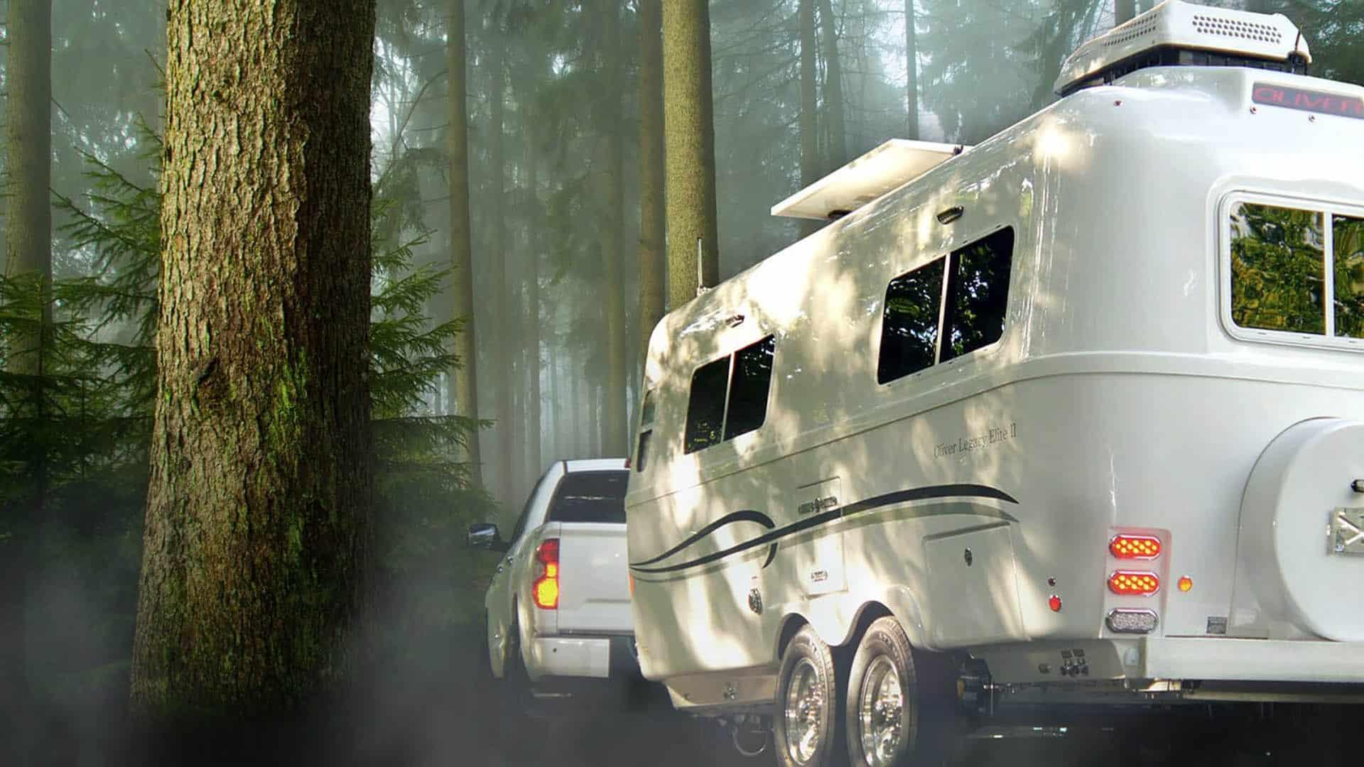 Oliver luxury fiberglass travel trailers