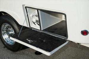 oliver travel trailers standard options outside wash station