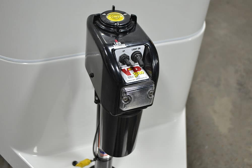 oliver travel trailers standard features power stabilizing system