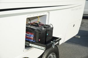 oliver travel trailers standard features slide out battery-storage