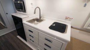 oliver travel trailers standard fiberglass kitchen counter-tops
