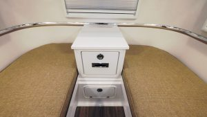oliver travel trailers standard fiberglass twin bed counter-tops