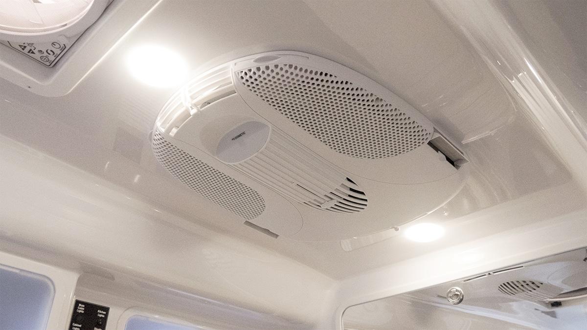 Inside Dometic Fan