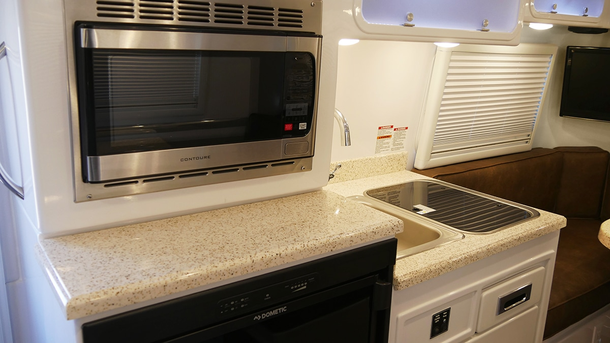 Legacy Elite - Inside view of the Kitchen