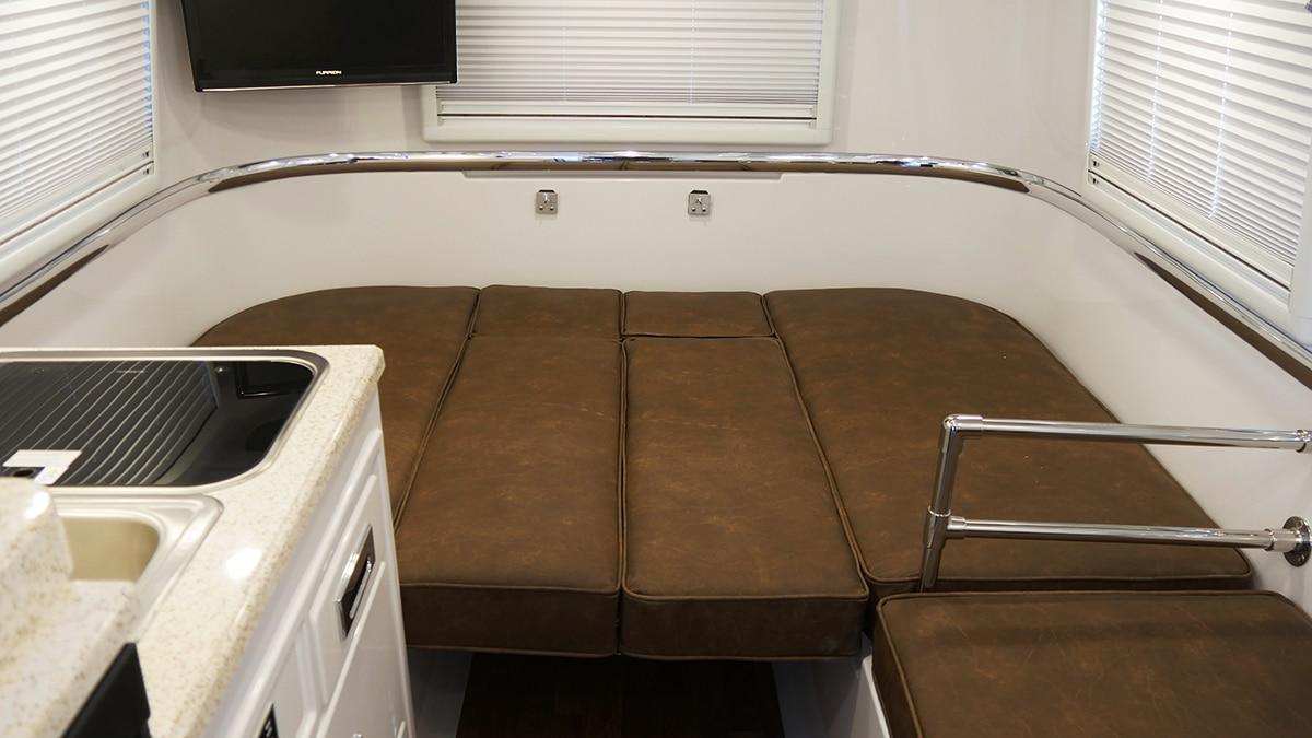 Legacy Elite - Inside view of Standard Sleeping Floorplan