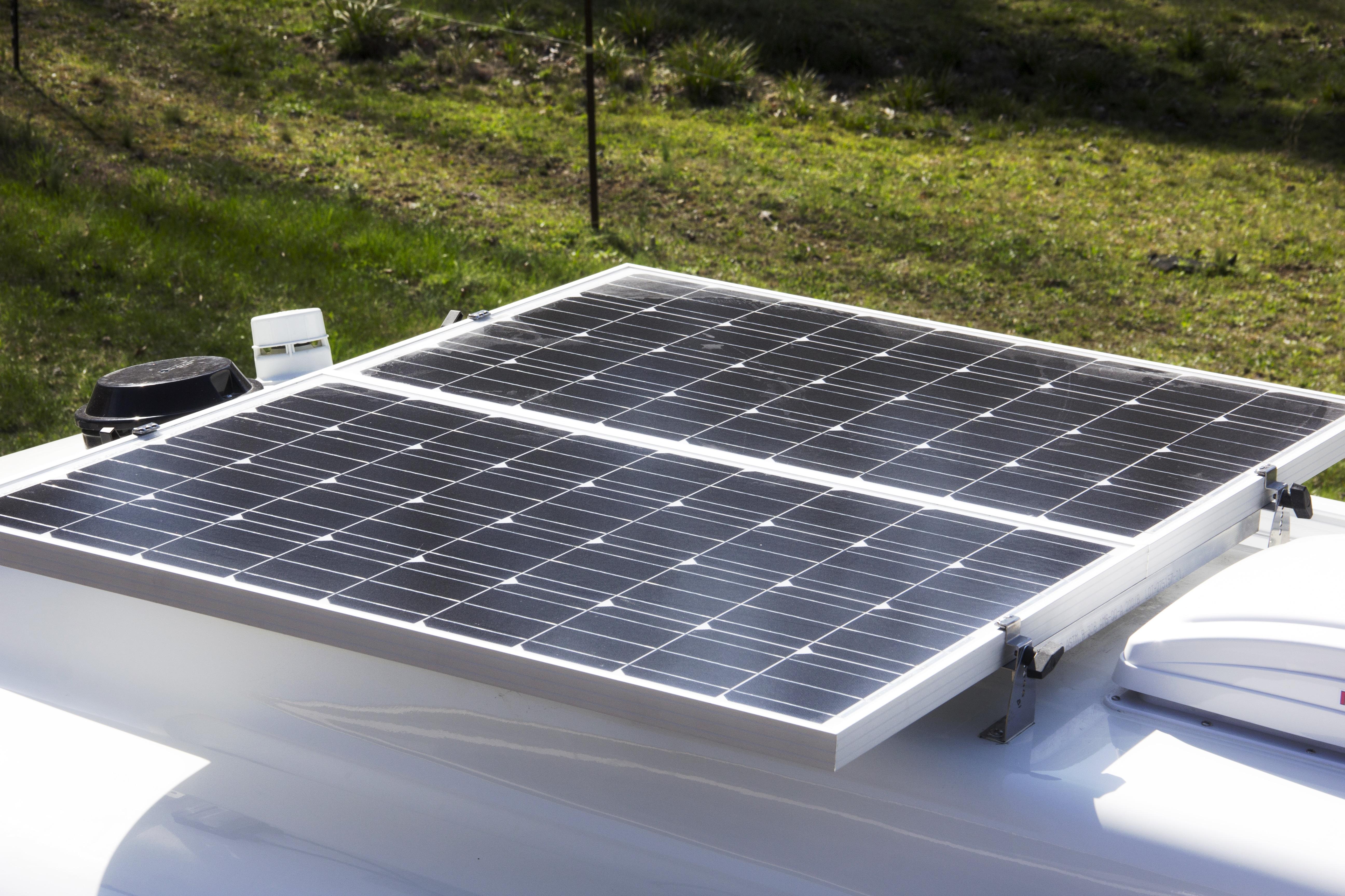 Legacy Elite - Solar Panel Roof View