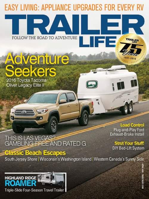 trailer life cover 2016 oliver travel trailers