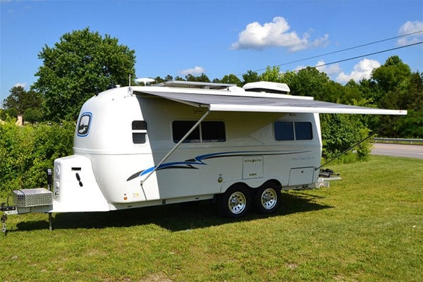oliver travel trailers additional street side awning