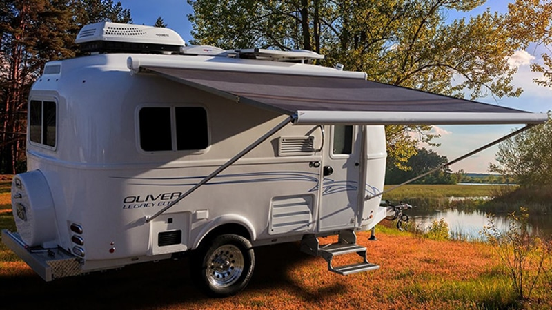 oliver legacy elite 1 compare airstream nest travel trailers
