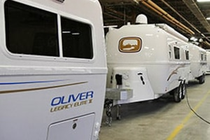 oliver travel trailers production line
