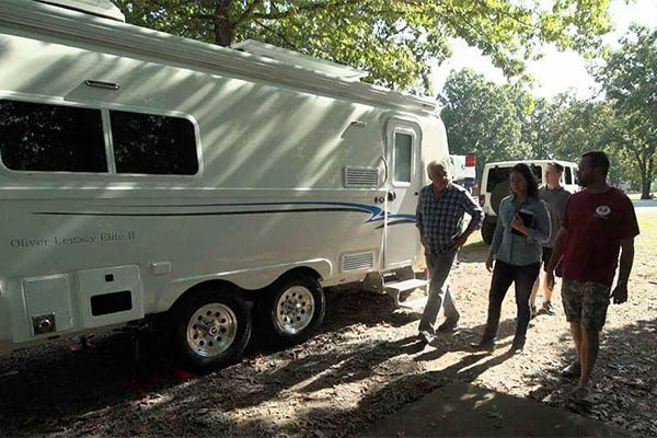 oliver travel trailers delivery day tour walkthrough with staff