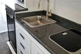 oliver travel trailers legacy elite fiber granite countertops small