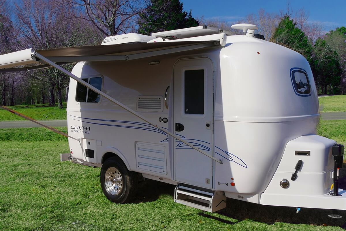 Small Travel Trailers | Legacy Elite | Oliver Travel Trailers
