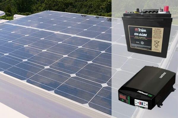 legacy elite 2 Solar panel package battery inverter