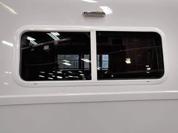 double thermal pane window 4 season travel trailer rv