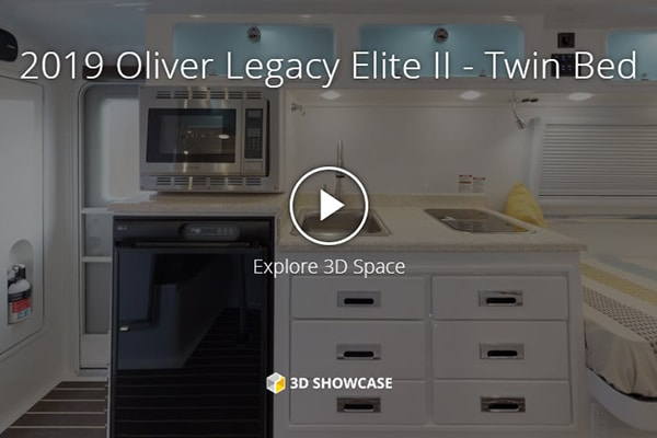 oliver legacy elite II virtual tour twin bed floor plan