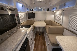 Small Travel Trailers Interior