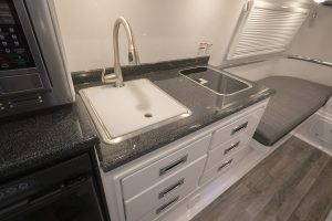 Travel Trailer Kitchen galley