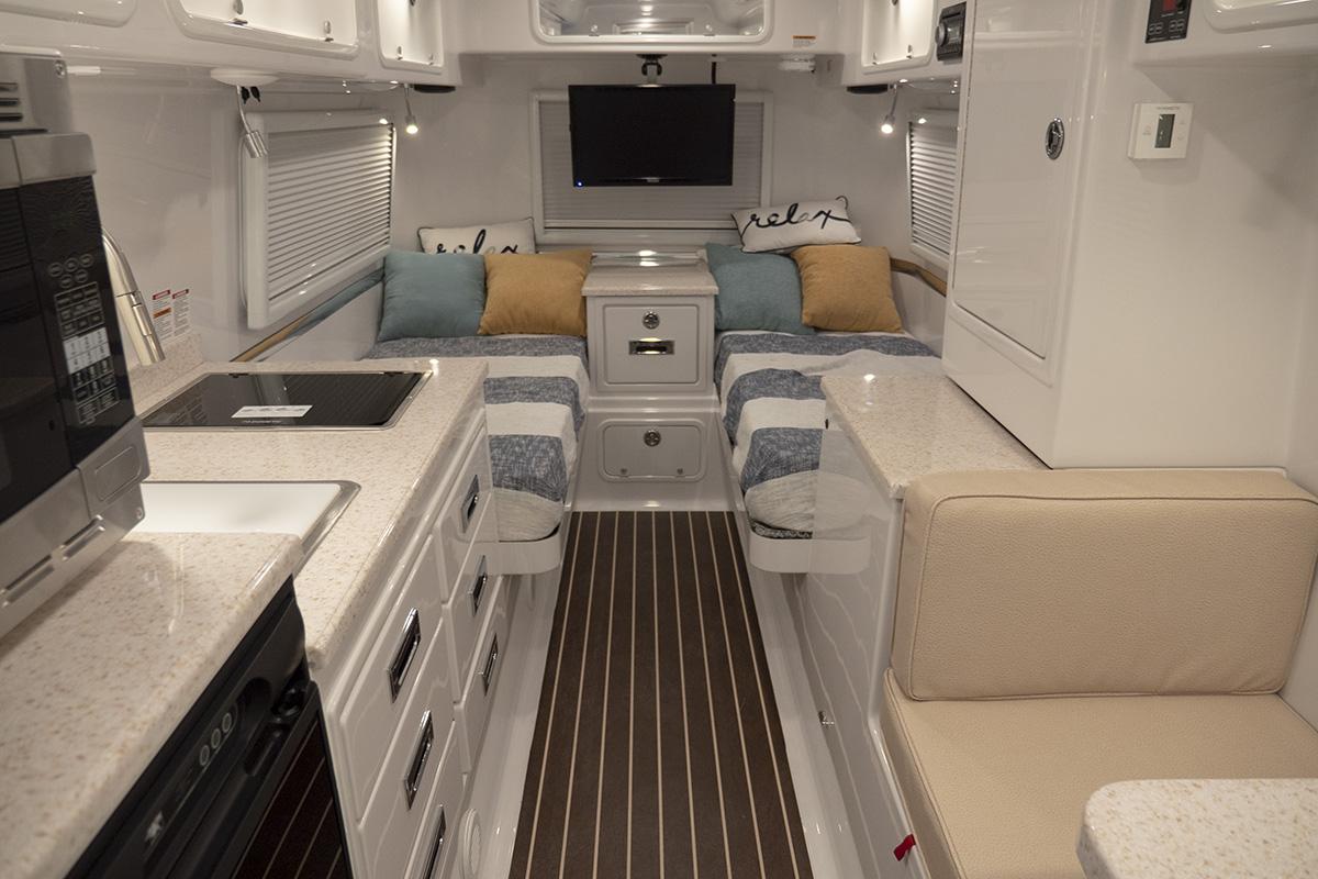 Legacy Elite II Twin Bed Floor Plan