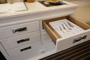 Kitchen Galley Dovetail Drawers