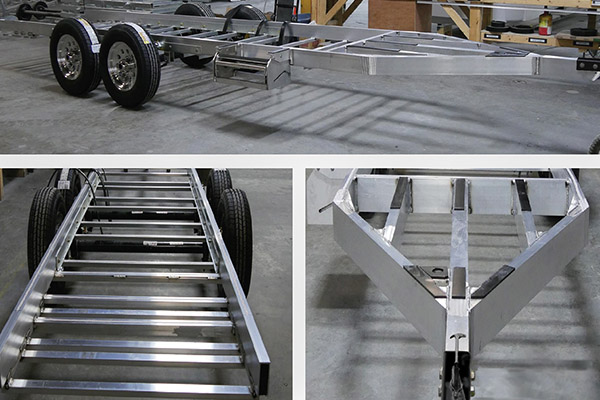 travel trailers marine grade aluminum chassis frame design benefits