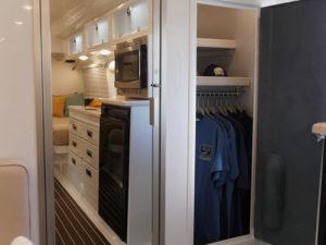 Inside View of Closet