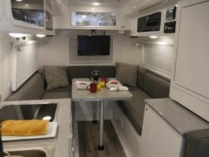 Legacy Elite II Standard Floor Plan Dining and Kitchen Galley
