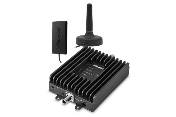 Fusion2Go 3.0 Voice, Text & 4G LTE Cell Phone Signal Booster for Car, Truck or SUV