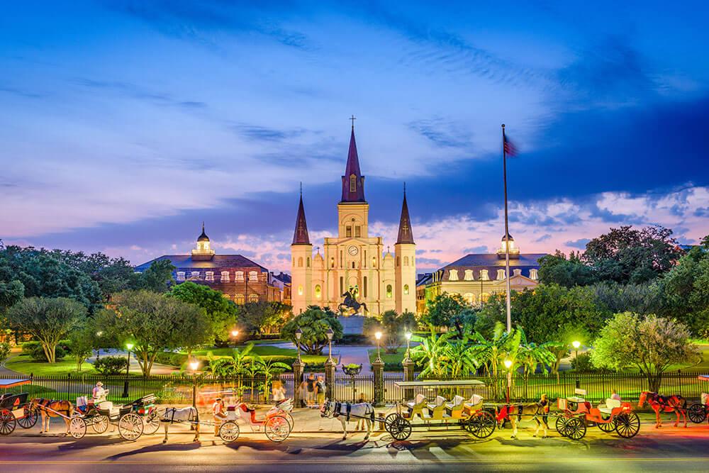 LOUISIANA – New Orleans Jackson Square