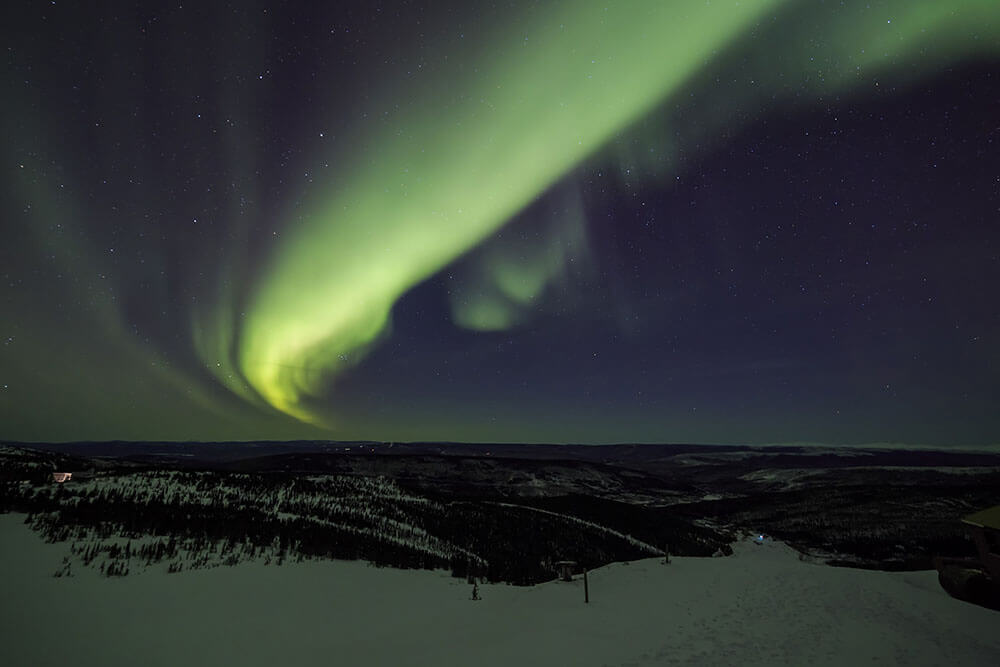 ALASKA – Northern Lights of Fairbanks