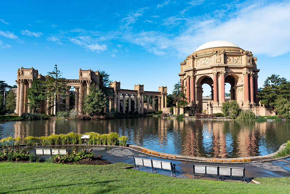 CALIFORNIA – Palace of Fine Arts