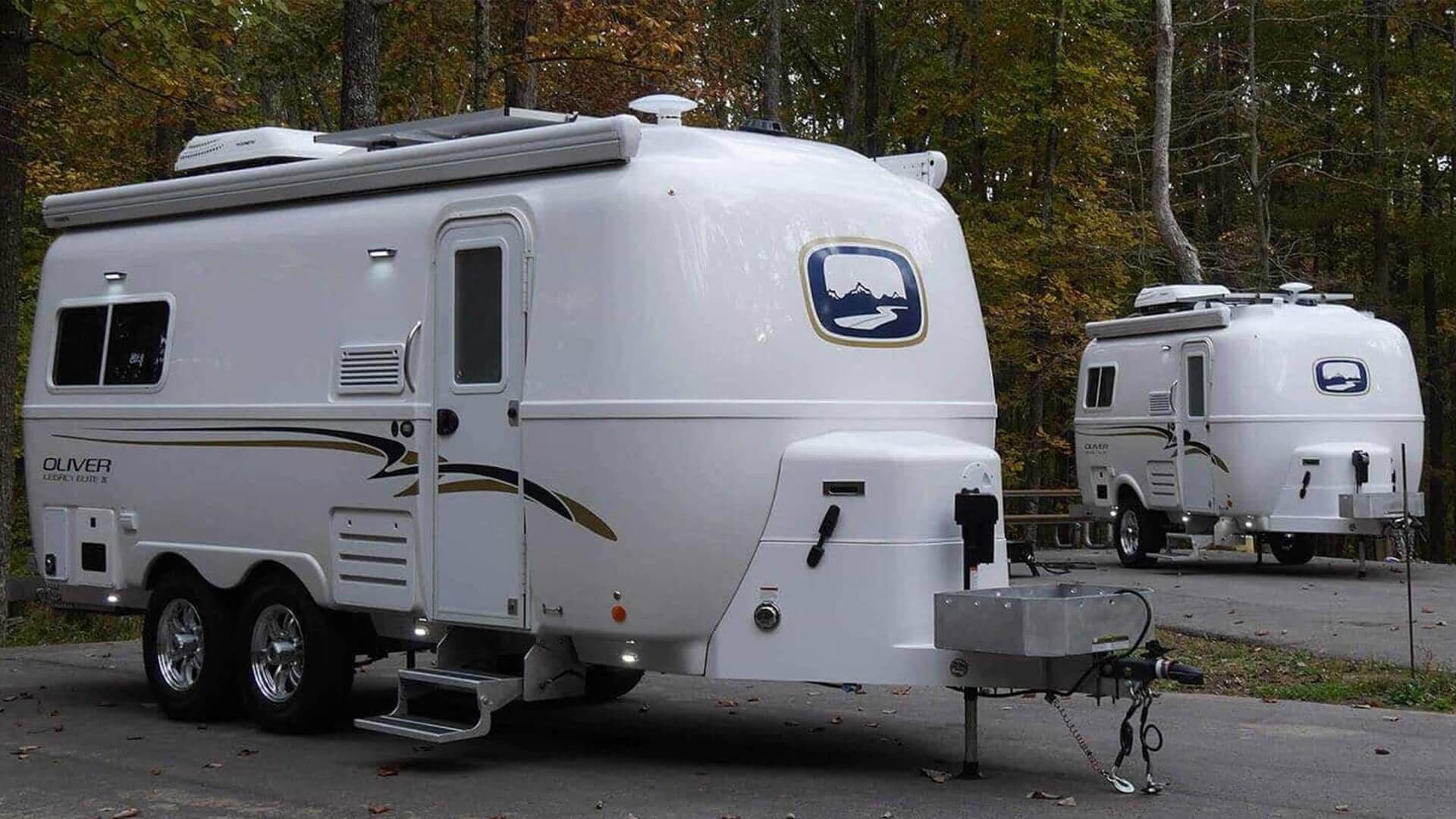 Oliver RV Trailers dream camp explore
